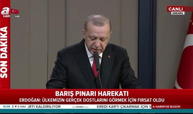 Başkan Erdoğan'dan UEFA'ya tepki!