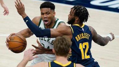 NBA'de Bucks Antetokounmpo'nun 40 sayısıyla kazandı
