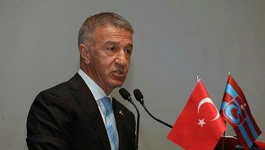 Son dakika spor haberi: Trabzonspor'da başkan Ahmet Ağaoğlu: İmza töreninde kesilerek verilen görüntüler algı çalışmasıdır