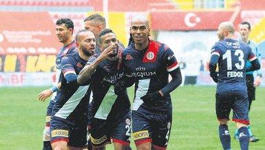 Antalyaspor nefeslendi