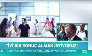 Ahmet Ağaoğlu: Getafe maçı zor geçecek