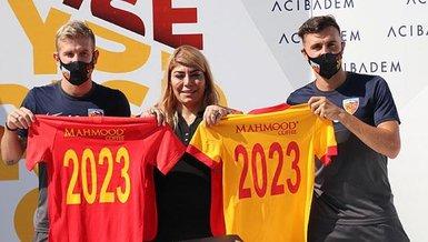 Kayserispor Pedro Henrique ve Gustavo Campanharo'nun sözleşmelerini uzattı