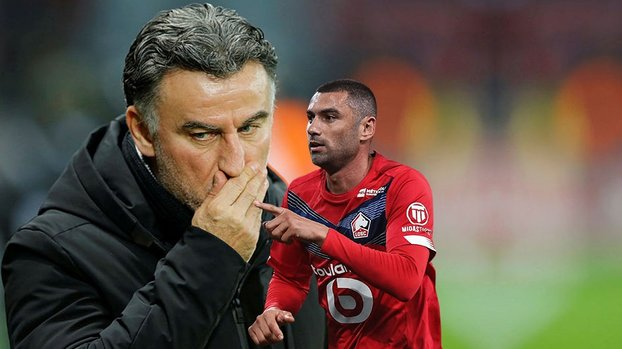 Son dakika spor haberi: Galtier Burak Yılmaz'ın sahalara döneceği maçı açıkladı #