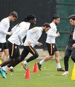 Galatasaray, Gençlerbirliği maçı hazırlıklarını tamamladı