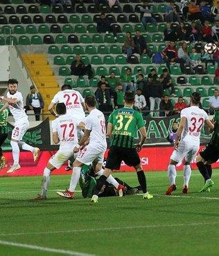 Akhisarspor 1-0 Ümraniyespor  | İşte maç özeti