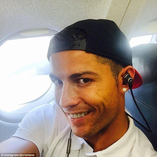 Ronaldo: Bir selfie çılgını...