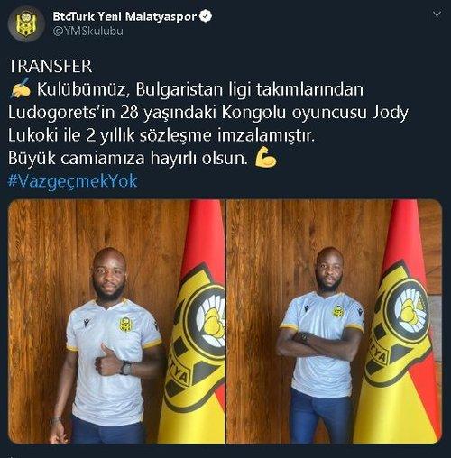 son dakika yeni malatyaspor yeni transferini resmen acikladi 1594294073937 - Son dakika: Yeni Malatyaspor yeni transferini resmen açıkladı!