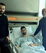 Hasan Çavuşoğlu'ndan Emre Akbaba'ya ziyaret