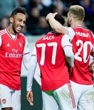 MAÇ SONUCU Arsenal 3-0 Frankfurt | ÖZET