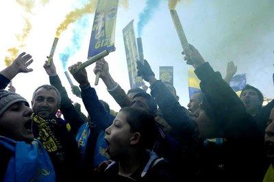 Fenerbahçeliler Çağlayan'da