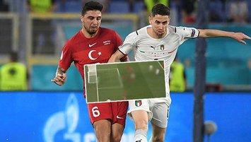 İtalyanlar abarttı! İşte penaltı bekledikleri pozisyon