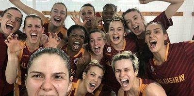 Galatasaray Basketbol Takımı Avrupa şampiyonluğu için parkede