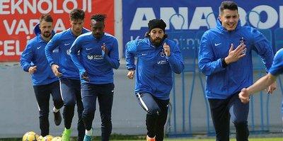 Trabzonspor, G.Saray'a hazırlanıyor