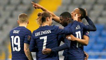 Fransa kazandı Griezmann tarihe geçti!