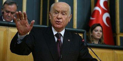 MHP Genel Başkanı Devlet Bahçeli: Galatasaray o şahsı aforoz etsin