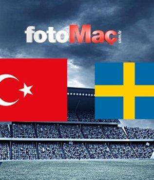 Türkiye - İsveç maçı ne zaman, hangi kanalda, saat kaçta?