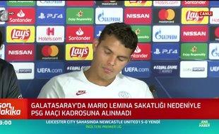 Thiago Silva: Galatasaray'ın hikayesini ve efsanesini biliyoruz