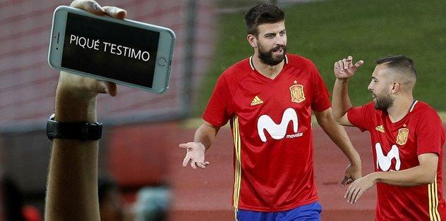 İspanya Teknik Direktörü Lopetegui'den Pique'ye destek!