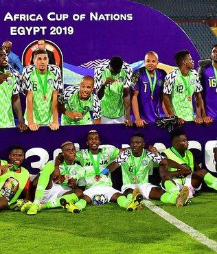 Nijerya Afrika Kupası'nı 3. tamamladı