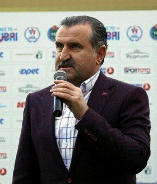 Bakanı Bak'tan Süleymanoğlu için taziye mesajı