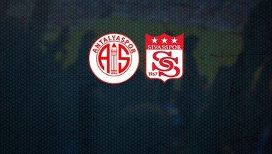 Antalyaspor Sivasspor | CANLI