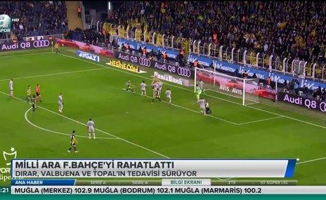 Milli ara Fenerbahçe'yi rahatlattı