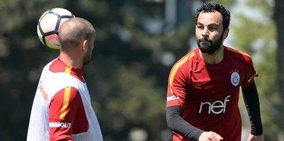 Galatasaray Bursaspor'a hazırlanıyor