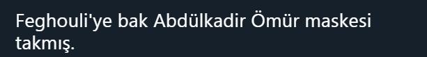 Abdülkadir Ömür jeneriklik bir gol attı sosyal medya yıkıldı!