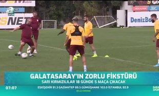 Galatasaray'ın zorlu fikstürü
