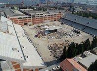 Alsancak Stadı'nda tribünler tamamlandı
