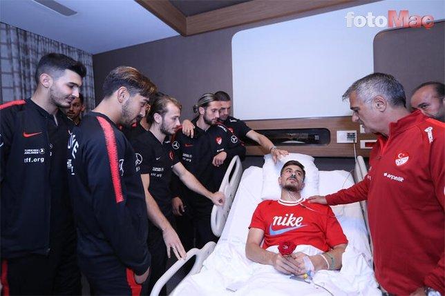 Dorukhan Toköz gözyaşlarına hakim olamadı! Emre Belözoğlu, Cenk Tosun...