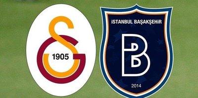 Galatasaray Başakşehir karşısında açık ara favori