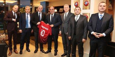 Infantino, Cumhurbaşkanı Erdoğan ile görüşecek