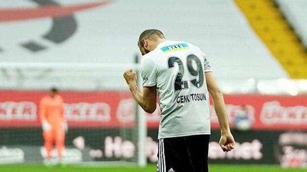 Son dakika spor haberi: Beşiktaş'ta Cenk Tosun beklemede