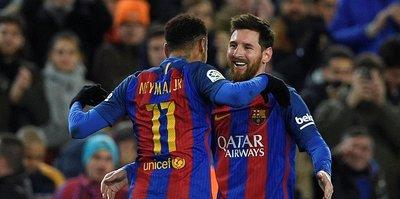 Neymar, Messi'yi geçti