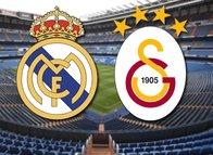 İşte Real Madrid-Galatasaray muhtemel 11'leri