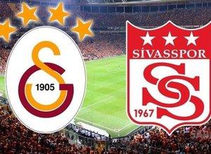 İşte Galatasaray-Sivasspor muhtemel 11'leri