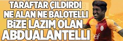 Forvet transferi bekleyen Galatasaray taraftarı çıldırdı!