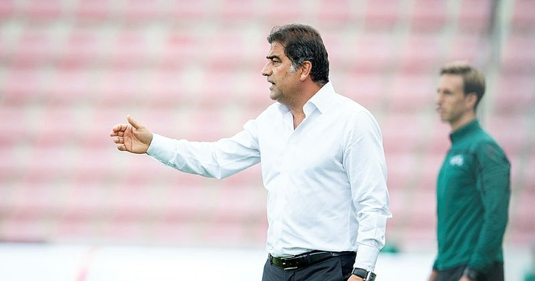 Sparta Prag - Trabzonspor maçından kareler