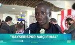 Antalyasporlu futbolcular Kayserispor maçını final olarak görüyor
