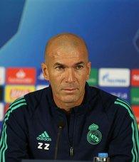 Zinedine Zidane basın toplantısı düzenledi