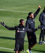 Beşiktaş antrenmanında Mirin şov! İşte ilk görüntüler