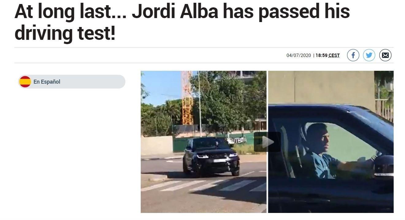 jordi alba ehliyet sinavini uzun denemelerden sonra gecmeyi basardi 1593949564336 - Jordi Alba ehliyet sınavını uzun denemelerden sonra geçmeyi başardı!
