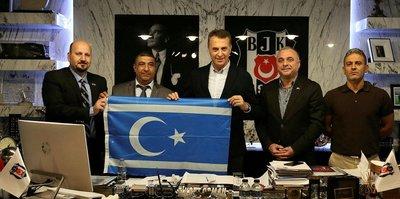 Başkan Orman, Kerkük'teki futbol okullarının sözleşmelerini imzaladı