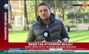Beşiktaş Isimat-Mirin ile anlaştı