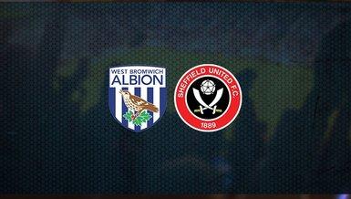 West Bromwich Albion - Sheffield United maçı ne zaman, saat kaçta ve hangi kanalda canlı yayınlanacak? | İngiltere Premier Lig