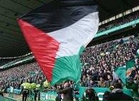Celtic'li taraftarlardan Filistin'e destek!