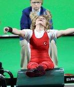 Şampiyonu hedeflerinden kollarındaki yırtık da vazgeçiremedi