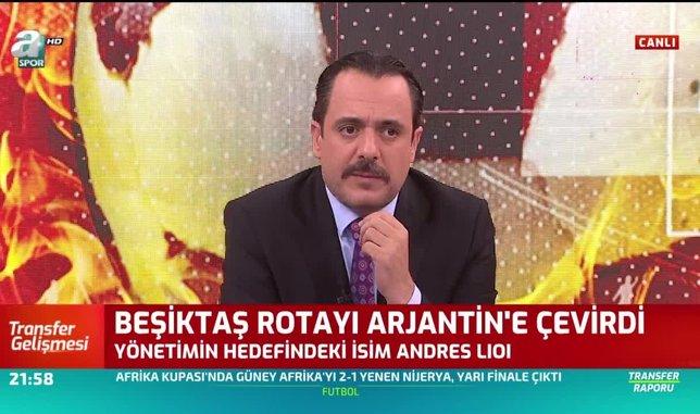 Beşiktaş Andres Lioi'yi kiralıyor
