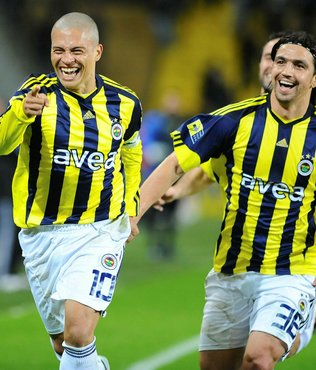 Alex de Souza'dan Fenerbahçe'ye derbi mesajı
